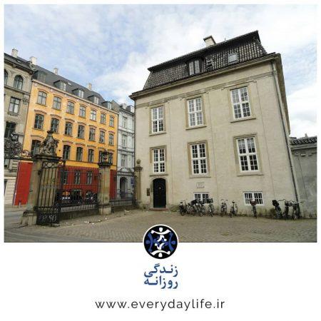 نمایی از خانهی کیرکگور در کپنهاگ